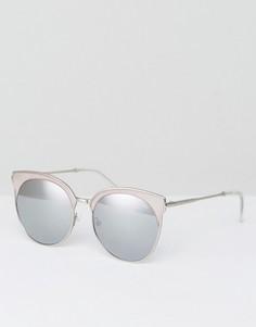 c1297ce56d70 Розовые солнцезащитные очки в стиле ретро Quay Australia Mia Bella - Розовый