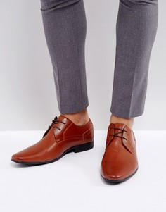Коричневые туфли-дерби New Look - Рыжий