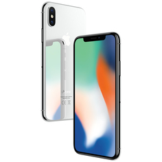 Смартфон Apple iPhone X 64GB Silver (Белый) (MQAC2RU/A)