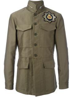 куртка в стиле милитари Alexander McQueen