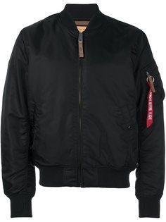 классическая куртка бомбер Alpha Industries