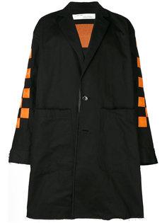 куртка с клетчатой вышивкой Off-White