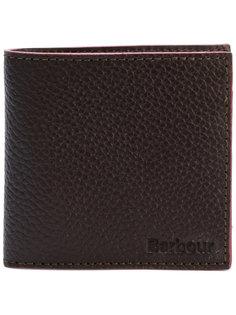 классический бумажник с зернистой фактурой Barbour