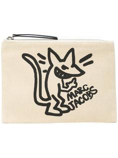 stinky rat print clutch Marc Jacobs