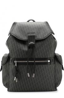 Рюкзак с кожаной отделкой Dior
