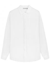 Шелковая блуза прямого кроя Vince