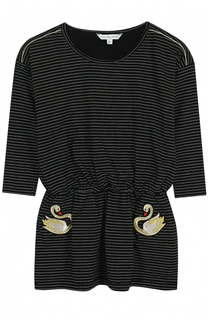Платье джерси в контрастную полоску Marc Jacobs
