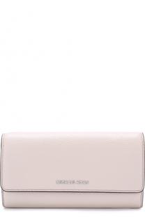 Кожаный кошелек с логотипом бренда MICHAEL Michael Kors