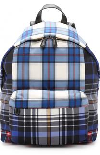 Текстильный рюкзак в клетку Givenchy