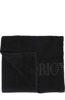 Хлопковое пляжное полотенце Emporio Armani