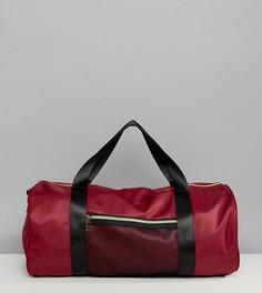 Бордовая спортивная сумка South Beach - Красный