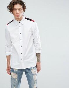 Рубашка со вставками Dr Martens - Белый
