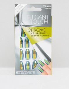 Накладные ногти-стилет Elegant Touch - Mirror Mermaid - Мульти