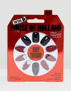 Накладные ногти House of Holland Luxe by Elegant Touch - Ruby Tuesday - Мульти