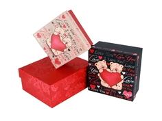 Коробка для подарка до 20см Pleer.Ru
