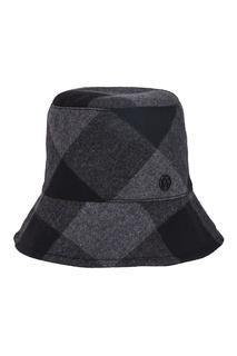 Шляпа в клетку Maison Michel