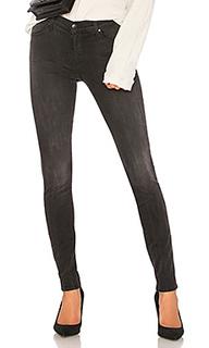 Супер узкие джинсы средней посадки 620 - J Brand