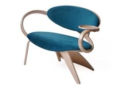"""Полукресло """"brazo"""" (actualdesign) голубой 134.0x83.0x63.0 см."""