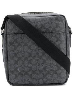 сумка на плечо на молнии Coach
