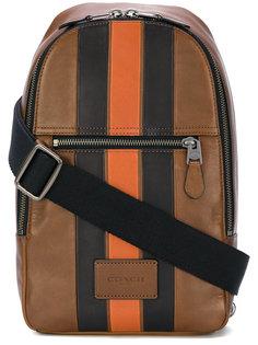 полукруглая сумка Coach