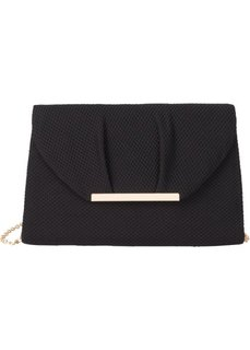 Текстильный клатч (черный) Bonprix