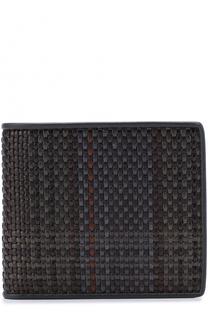 Кожаное портмоне с отделениями для кредитных карт Zegna Couture