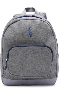 Текстильный рюкзак с логотипом бренда Polo Ralph Lauren