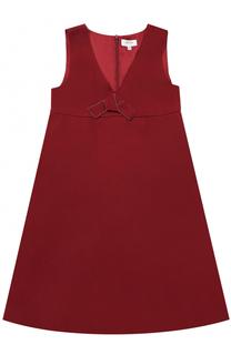 Платье с завышенной талией и бантом Aletta