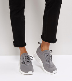 Серые кроссовки adidas Originals NMD R1 - Серый