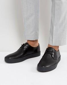 Кожаные туфли с подошвой с эффектом крепа Vagabond Luis - Черный