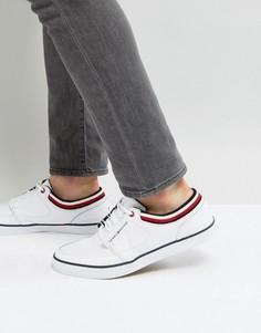 Белые кожаные кроссовки Tommy Hilfiger Harrington - Белый