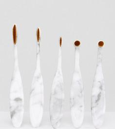 Набор кистей для глаз Pro Brushes The Marble - Бесцветный