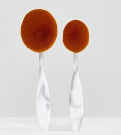 Набор кистей для лица и тела Pro Brushes The Marble - Бесцветный