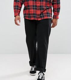 Черные прямые джинсы Levis PLUS 501 - Черный
