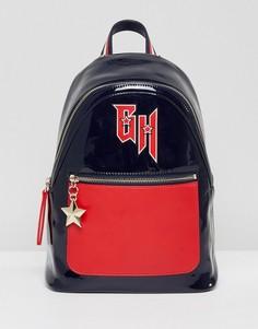 Лакированный рюкзак колор блок Gigi Hadid - Мульти Tommy Hilfiger