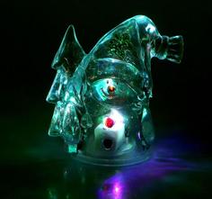 Новогодний сувенир Luazon Снеговик и елка RGB 1077330
