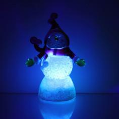 Новогодний сувенир Luazon Снеговик радушный RGB 1077344