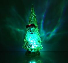 Новогодний сувенир Luazon Ёлочка Дед мороз Green 1353367