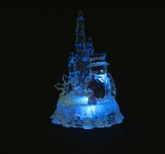 Новогодний сувенир Luazon Снеговик и айсберг 830704