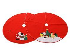 Украшение Kaemingk Юбка для декорирования основания ёлки Новогодние мотивы 100cm 660037