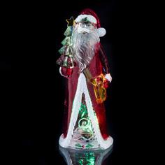 Новогодний сувенир Lefard Дед Мороз 15cm с подсветкой 786-209