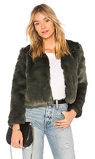 Пальто из искусственного меха zora - MAJORELLE