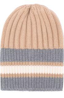 Шерстяная шапка фактурной вязки Tak.Ori
