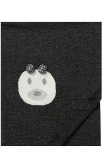 Одеяло из смеси шерсти и кашемира с помпонами Baby T