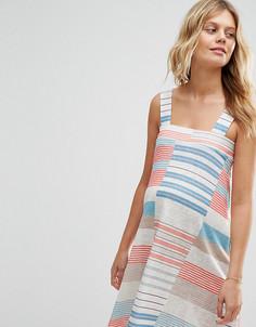 Платье мини для беременных с полосками ASOS Maternity - Мульти