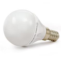 Лампочка ECOWATT Шарик P45 E14 4.2W 2700K CL 300 Warm White