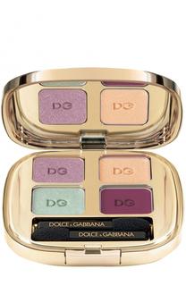 Тени для век Quad, оттенок 163 Fall In Bloom Dolce & Gabbana