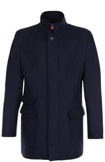 Шерстяная куртка на молнии с воротником-стойкой Kiton