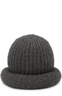 Шерстяная шляпа фактурной вязки Marc Jacobs