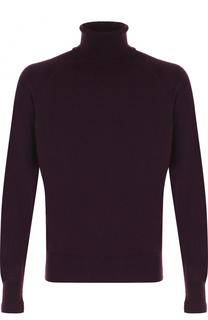 Кашемировый свитер с воротником-стойкой Tom Ford